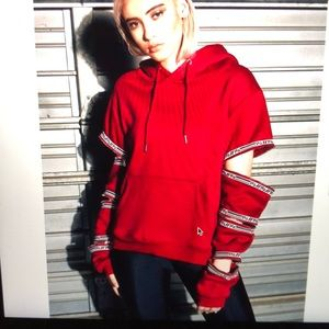 LF the Brand Red pullover hoodie